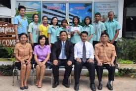 รางวัลชนะเลิศ ประเภท เอแม็ท การต่อเลขคำนวณ รุ่นมัธยมศึกษาปีที่ 1-2 หญิง ชิงแชมป์ประเทศไทยครั้งที่ 14